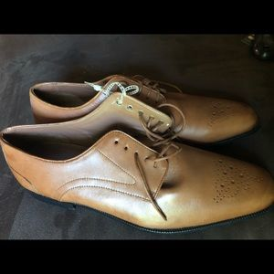Rockport tan leather shoes